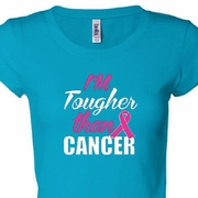 Breast Cancer Awareness Tougher Than Cancer Shirts