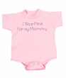 Breast Cancer Baby Rompers - I Wear Pink For My Mommy Pink