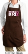 Breast Cancer Dream Big Ladies Full Length Apron with Pockets
