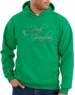 Breast Cancer Hoodie Sweatshirt I Wear Pink For Grandma Kelly Hoody