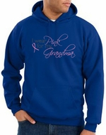 Breast Cancer Hoodie Sweatshirt I Wear Pink For My Grandma Royal Hoody