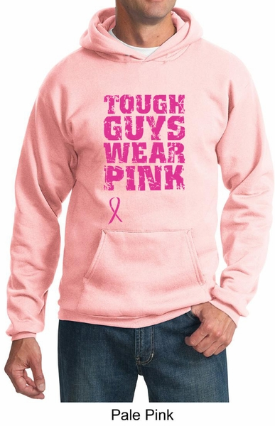 Breast Cancer Hoodie Tough Guys Wear Pink Hoody - Breast Cancer ...