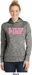 Breast Cancer My Team Wears Pink Ladies Moisture Wicking Hoodie