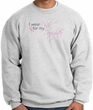 Breast Cancer Sweatshirt Wear Pink For My Daughter Ash Sweat Shirt