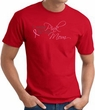 Breast Cancer T-shirt I Wear Pink For My Mom Red Tee