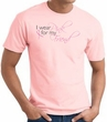 Breast Cancer T-shirt - Ribbon I Wear Pink For My Friend Pink Tee