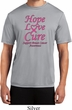 Breast Cancer Tee Hope Love Cure Dry Wicking T-shirt
