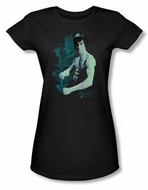 Bruce Lee Juniors T-shirt Feel Black