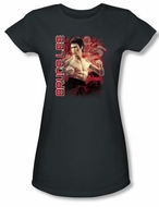 Bruce Lee Juniors T-shirt Fury Charcoal