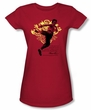 Bruce Lee Juniors T-shirt Immortal Dragon Red
