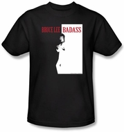 Bruce Lee Kids T-shirt Youth Badass Black