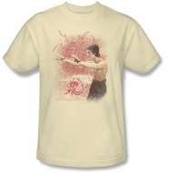 Bruce Lee Kids T-shirt Youth Power Of The Dragon Cream