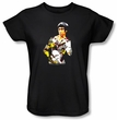 Bruce Lee Ladies T-shirt Body Of Action Black