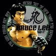 Bruce Lee Ladies T-shirt Expectations Black