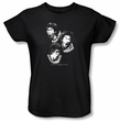 Bruce Lee Ladies T-shirt Sounds Of The Dragon Black