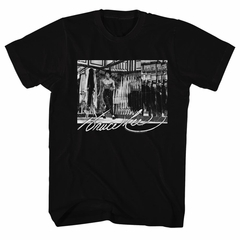 Bruce Lee Shirt Mirror Black T-Shirt