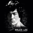 Bruce Lee T-shirt Adult In Your Face Black