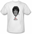 Bruce Lee T-shirt Adult Self Help White