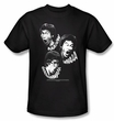 Bruce Lee T-shirt Adult Sounds Of The Dragon Black