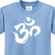 Brushstroke Aum Kids Yoga Shirts