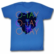 Buckwheat Shirt O-Tay Royal Blue T-Shirt