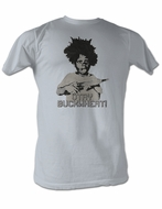 Buckwheat T-shirt Little Rascals Otay Buckwheat Adult Silver Tee Shirt