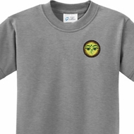 Buddha Eyes Patch Pocket Print Kids Yoga Shirts