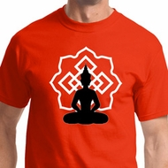 Buddha Lotus Pose Mens Shirts