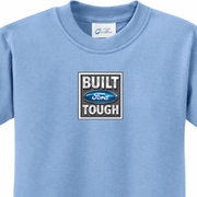 Build Ford Tough Kids Middle Print Shirts