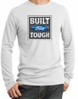 Built Ford Tough Long Sleeve Thermal - Ford Logo Adult White Shirt