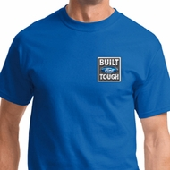 Built Ford Tough Pocket Print Mens Shirts