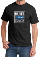 Built Ford Tough Shirt Ford Logo Mens Black Tee T-Shirt