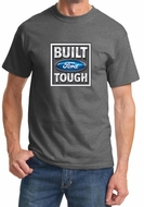 Built Ford Tough Shirt Ford Logo Mens Charcoal Tee T-Shirt