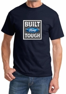 Built Ford Tough Shirt Ford Logo Mens Navy Tee T-Shirt
