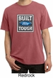 Built Ford Tough Shirt Ford Logo Mens Pigment Dyed Tee T-Shirt