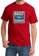 Built Ford Tough Shirt Ford Logo Mens Red Tee T-Shirt