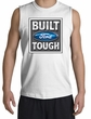 Built Ford Tough Shooter Shirts - Ford Logo Adult Muscle Shirts