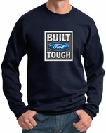Built Ford Tough Sweatshirt Ford Logo Mens Navy Sweat Shirt