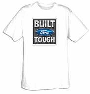 Built Ford Tough T-Shirts - Ford Logo Adult Tee Shirts