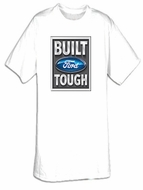 Built Ford Tough T-Shirts - Tall Size Ford Logo Adult Tee Shirts