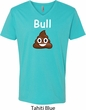 Bull Crap Mens V-Neck Shirt
