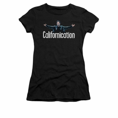 Californication Shirt Juniors Outstretched Black T-Shirt
