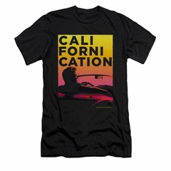 Californication Shirt Slim Fit Sunset Black T-Shirt