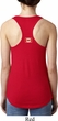 Canada Flag Patch Back Print Ladies Ideal Tank Top
