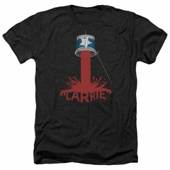 Carrie Shirt Bucket Of Blood Heather Black T-Shirt