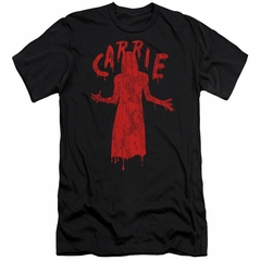 Carrie Slim Fit Shirt Silhouette Black T-Shirt