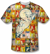 Casper The Friendly Ghost Covered Sublimation Shirt