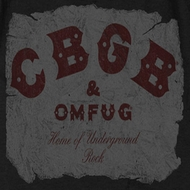 CBGB Crumbled Logo Shirts