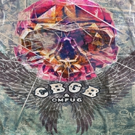 CBGB Graffiti Skull Sublimation Shirts