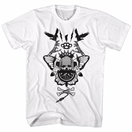 CBGB & OMFUG Shirt Crossbones White T-Shirt